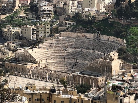Private Walking Tour of Amman Day or Night:  Amman s Roman Theatre