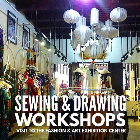 Lucy's Dream Fashion and Art Exhibition Center: A visit to the Fashion and Art exhibition center run by Lucy's Dream, followed by sewing and drawing workshops