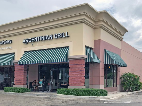 Argentinian Grill: Entrance and exterior view