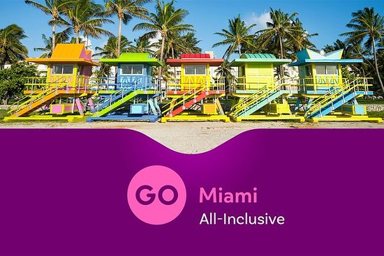 Go Miami All-Inclusive Pass with Hop-on Hop-off and Zoo Miami: Go Miami All-Inclusive Pass with Hop-on Hop-off Bus and Seaquarium