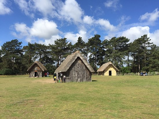 West Stow Country Park and Anglo-Saxon Village