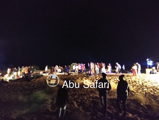 Abu Safari: New year's party on the dunes