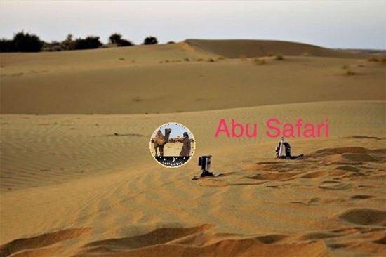 Abu Safari: sam sam dunes