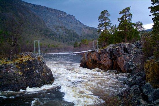 Storslett, Norge: Nedrefoss