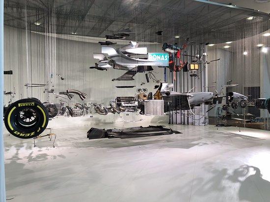 Mercedes-Benz World at Brooklands: Incredible dismantled F1 car