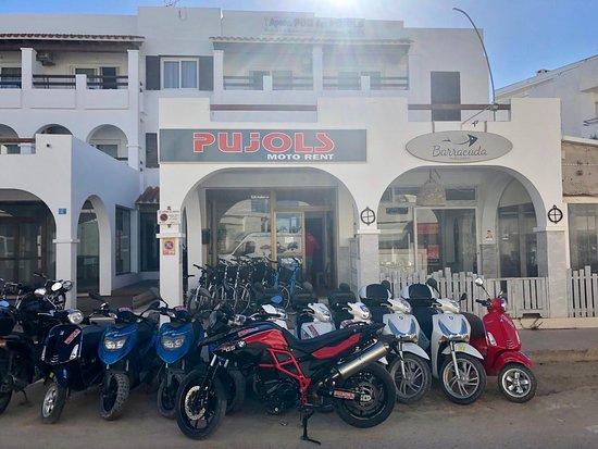 La Savina, Španielsko: Oficina en Es Pujols.