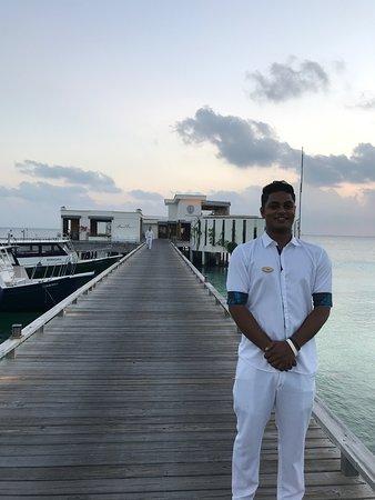 Amilla Maldives Resort and Residences: Sameer our butler
