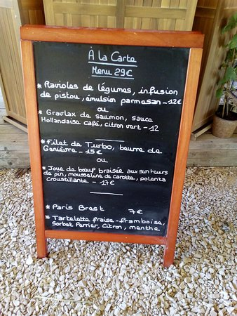 La Table D'Albizzi: Nouvelle carte