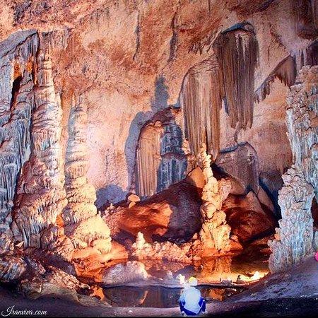 Salman Shahr, อิหร่าน: Daniel Cave Location: Mazandaran, Abbas abad Coordinate: 36.660935, 51.180649 By Iranviva Mobile: 09190391574