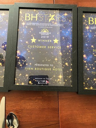 2019 Customer Service Award