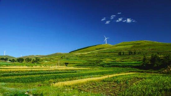 Zhangbei County, China: Grass land in Zhangjiakou  The best season is short but worthy for you to come