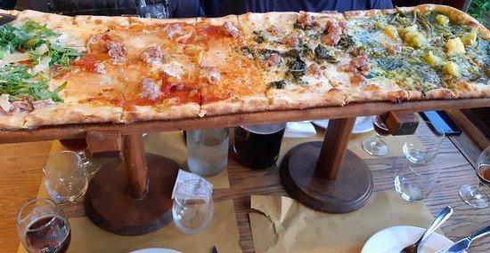 Ristorante Montallegro: pizza al metro