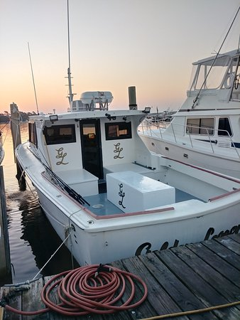 Golden Legacy geared up and ready for charter season