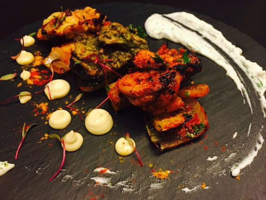 Dhaba Chicken Platter  वranda bandra