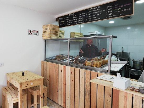 Sibate, كولومبيا: Comida casera y con calidad