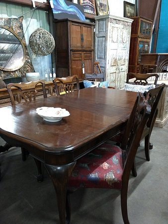 Imports, Antiques and Mid Century Furniture all around you