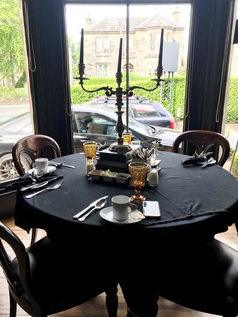 Our Breakfast Dining Table Picture Of 23 Mayfield Book Direct Edinburgh Tripadvisor