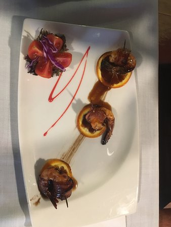 Beautiful presentation and fantastic food