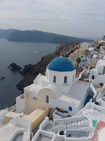 Oia-the most picturesque village in Santorini