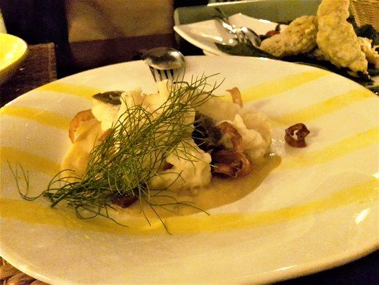 tempura dried cod
