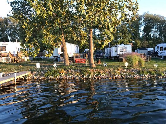 Churubusco, IN: view from the pier
