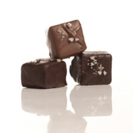 Mouth watering Grey Sea Salt Caramels - made local made fresh.