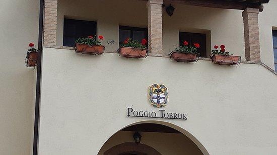 balconcino Poggio Tobruk