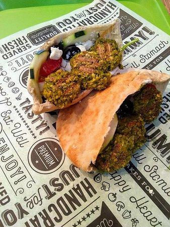 Falafel Pita from Pita My Heart