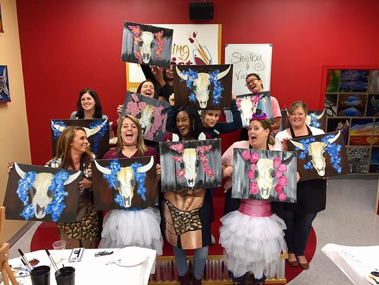 Join us at Painting with a Twist for your next Girls Night Out, Birthday Bash, Bachelorette pARTy, Teambuilding, Date Night, Kid's Party, Bridal Shower, Me time, night away from the kiddos...really, any reason at all! Invite your favorite people and get ready for a good time.. no experience needed!