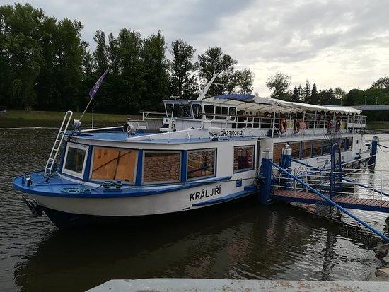 Podebrady, Tjekkiet: Loď