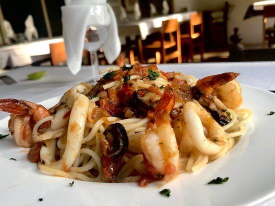 Ivato, Madagascar: Spaghetti frutti di mare