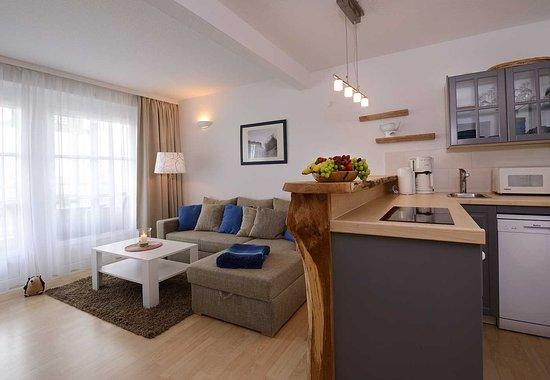 Villa Granitz: Appartement mit Balkon