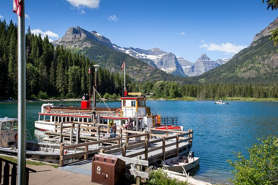 Waterton Shoreline Cruise Co.: In Waterton Lakes National Park, you can visit two countries in one day! Take a shoreline cruise to see stunning mountain scenery on both sides of the Canada - US border.