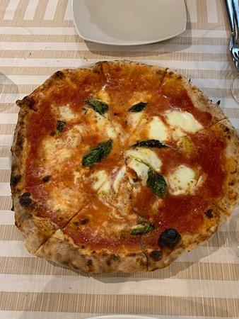 The sauce really makes this pizza. We had the Margherita, but every choice looked wonderful!