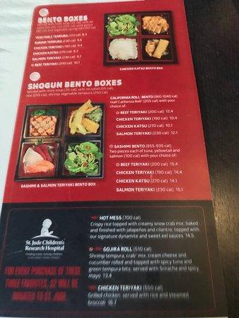 05-29-19 Lunch menu