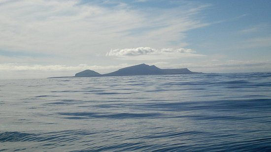 Foula from just west of Hamnavoe