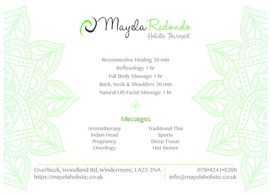 Mayela Redondo - Holistic Therapist