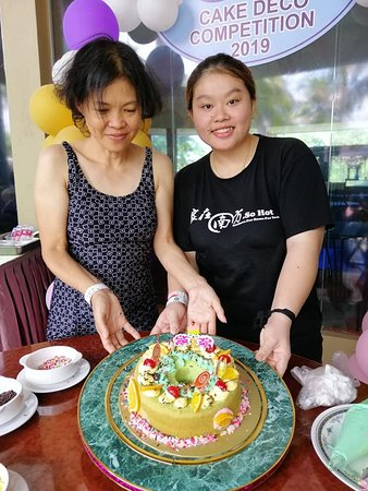 Cake deco from Mama and her mini me <3 full of love XOXO