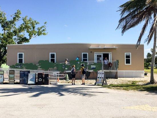 Gulf Coast Visitor Center: The Temporary Visitor Center