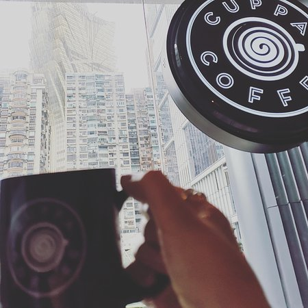 CUPPACOFFEE Macau - Cheers with a view