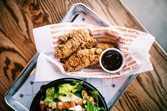 Chicken Fingers & Salads Available