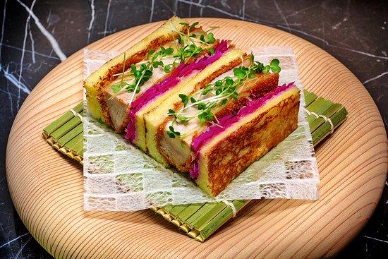 Bellota Pork Katsu Brioche Sando ( Lunch Only )