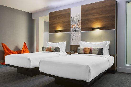 Aloft Liverpool: Guest room