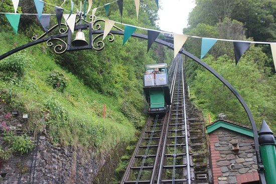 Lynton and Lynmouth Cliff Railway: one