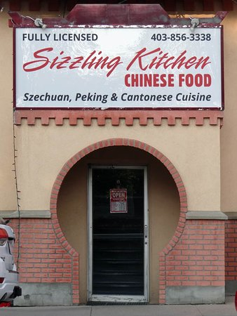 SIZZLING KITCHEN, Drumheller - Menu