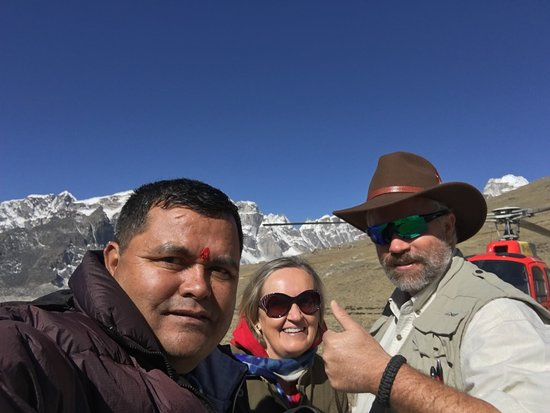 Everest Base Camp Helicopter Tour - March ,2018 by Marron Treks.