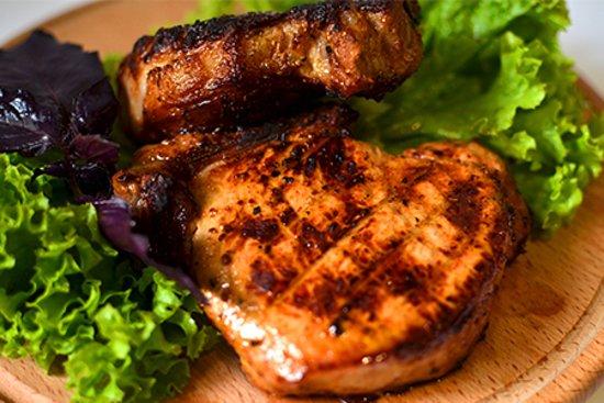 Антрекот свиной на мангале