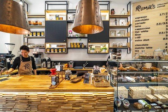 Ruma's Coffee : Our coffee shop