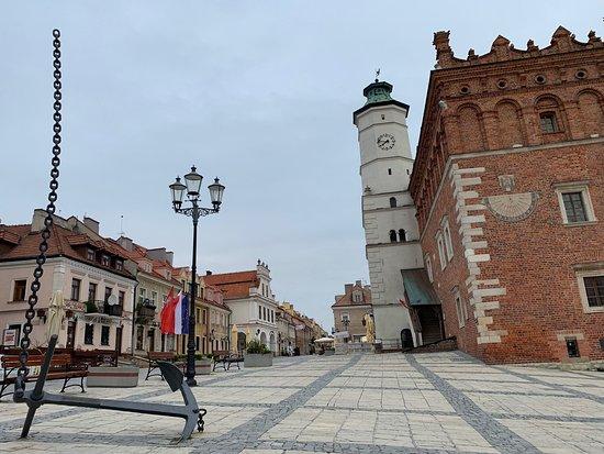 Piszczele Park in Sandomierz