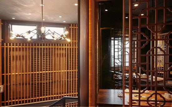 Hsinchu, Taiwán: 吊燈是蜘蛛造型,看起來就是酷